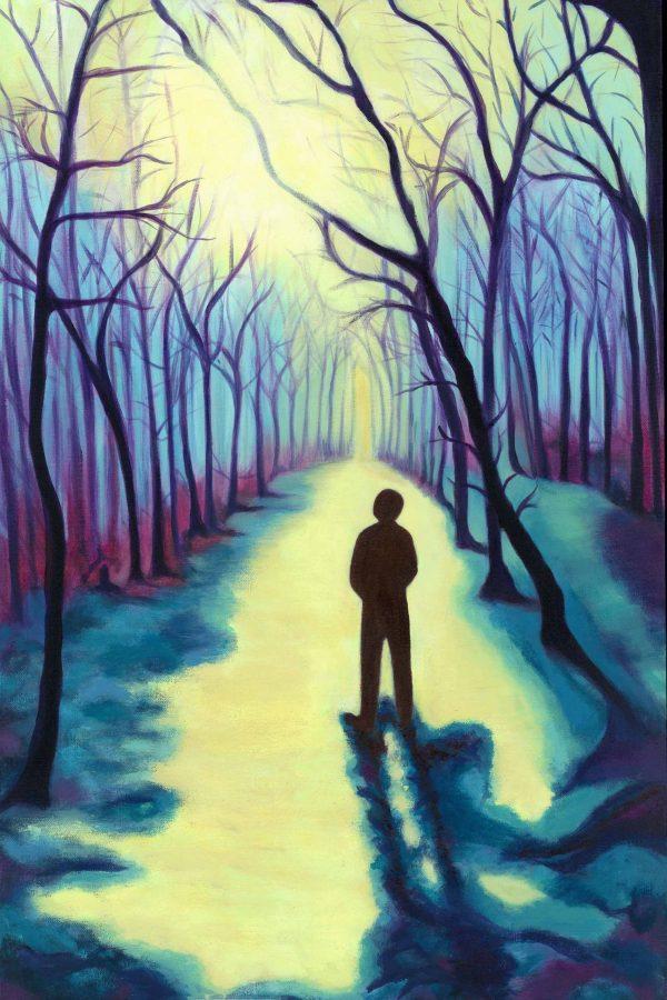 Hope: Figure in Woodland
